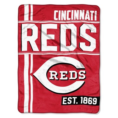 MLB Cincinnati Reds Micro Fleece Throw Blanket