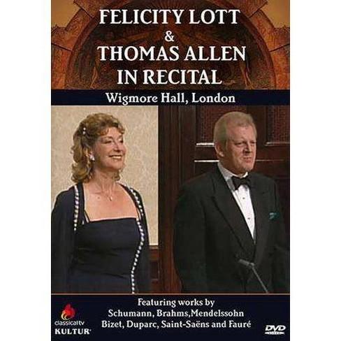 Felicity Lott & Thoman Allen In Recital (DVD) - image 1 of 1