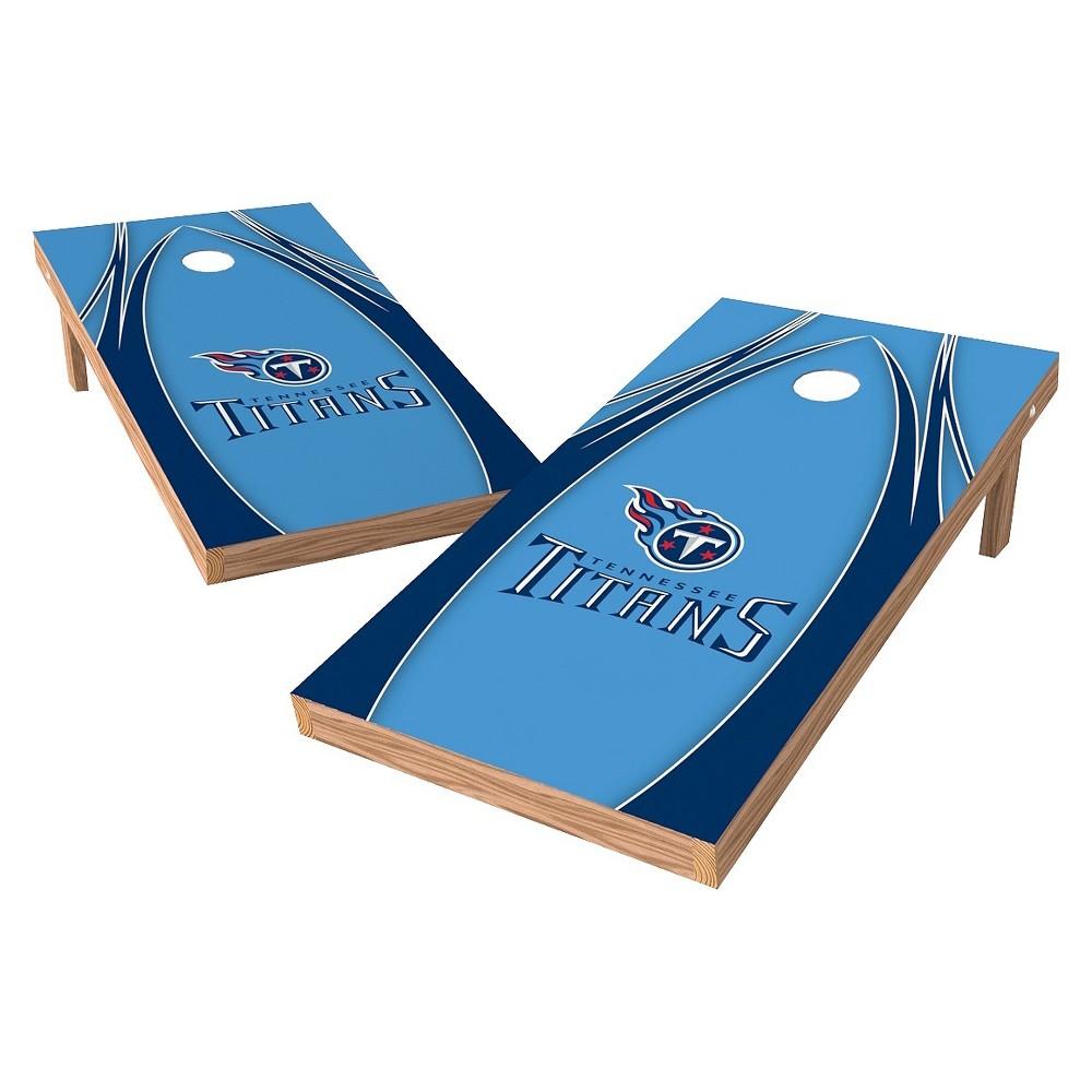 Tennessee Titans Wild Sports XL Shield Logo Cornhole Bag Toss Set - 2x4 ft.