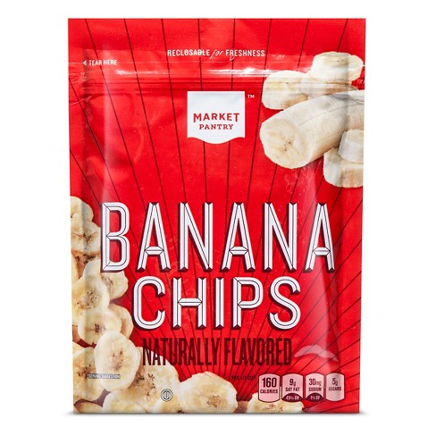 Banana Chips Dried Fruit - 4.5oz - Market Pantry™ - image 1 of 1