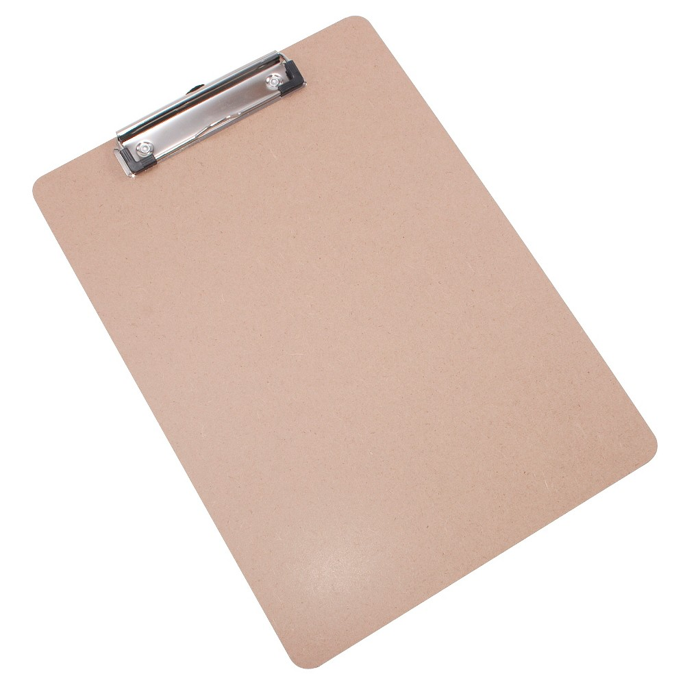 Composite Clipboard Brown - Up&Up, Light Off-White