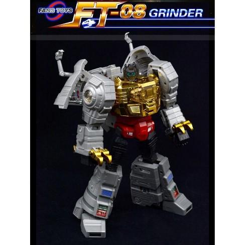 FansToys FT-08 Grinder - Iron Dibots No.5 Action Figures - image 1 of 4