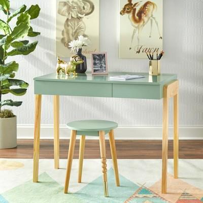 Alena Desk and Stool Set - Buylateral