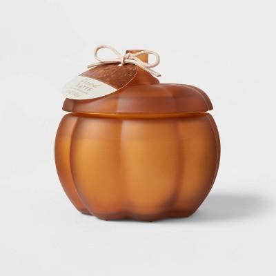 Medium Pumpkin Caramel Latte Honey Orange Candle - Threshold™