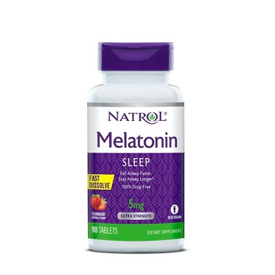 Sleep Aids: Natrol Fast Dissolve Melatonin
