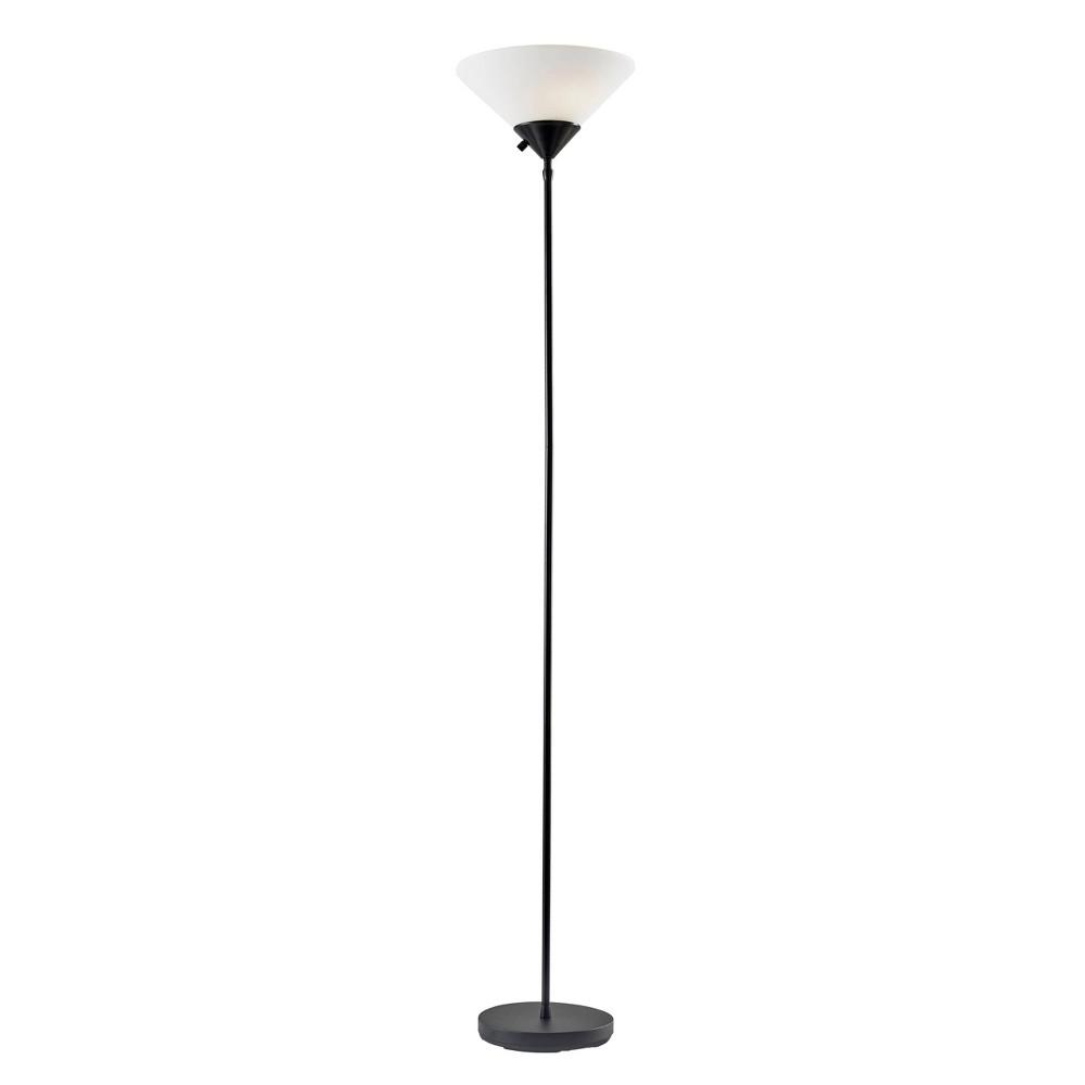 Image of Adesso Pisces Floor Lamp Black