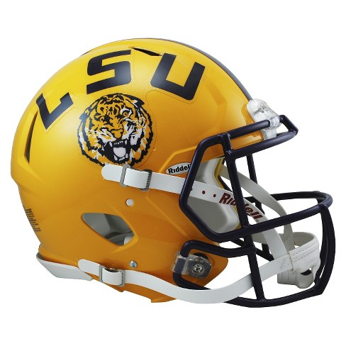 LSU Tigers Riddell Speed Authentic Helmet - Gold - image 1 of 1