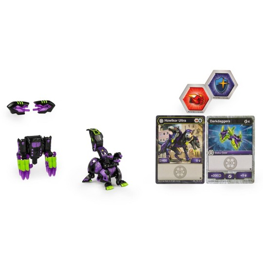"""Bakugan Ultra Howlkor with Transforming Baku-Gear Armored Alliance Collectible Action Figure 3"""" image number null"""