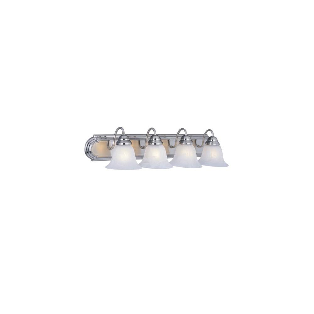Image of 4-Light Vanity Fixture, wall lights