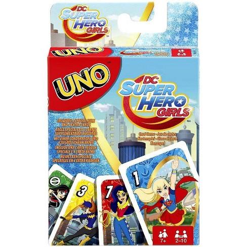 DC Super Hero Girls UNO Card Game - image 1 of 2