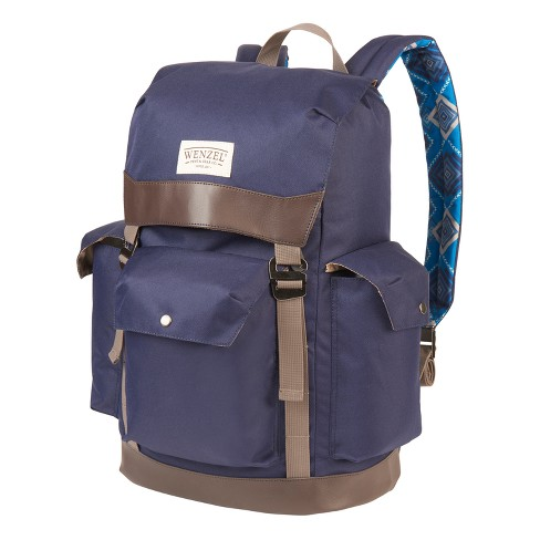 Wenzel Tribute Stache Daypack - Blue Geo Print (28lt) - image 1 of 4