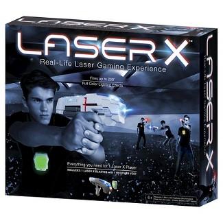 Laser X One Player Laser Tag Blaster Gaming Set