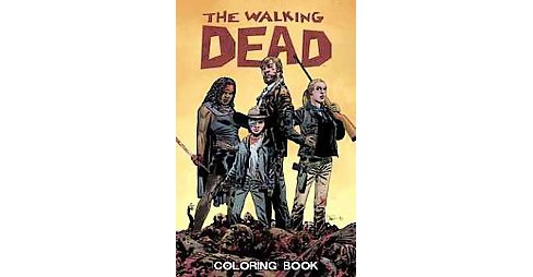 The Walking Dead Adult Coloring Book by Charlie Adlard - image 1 of 1