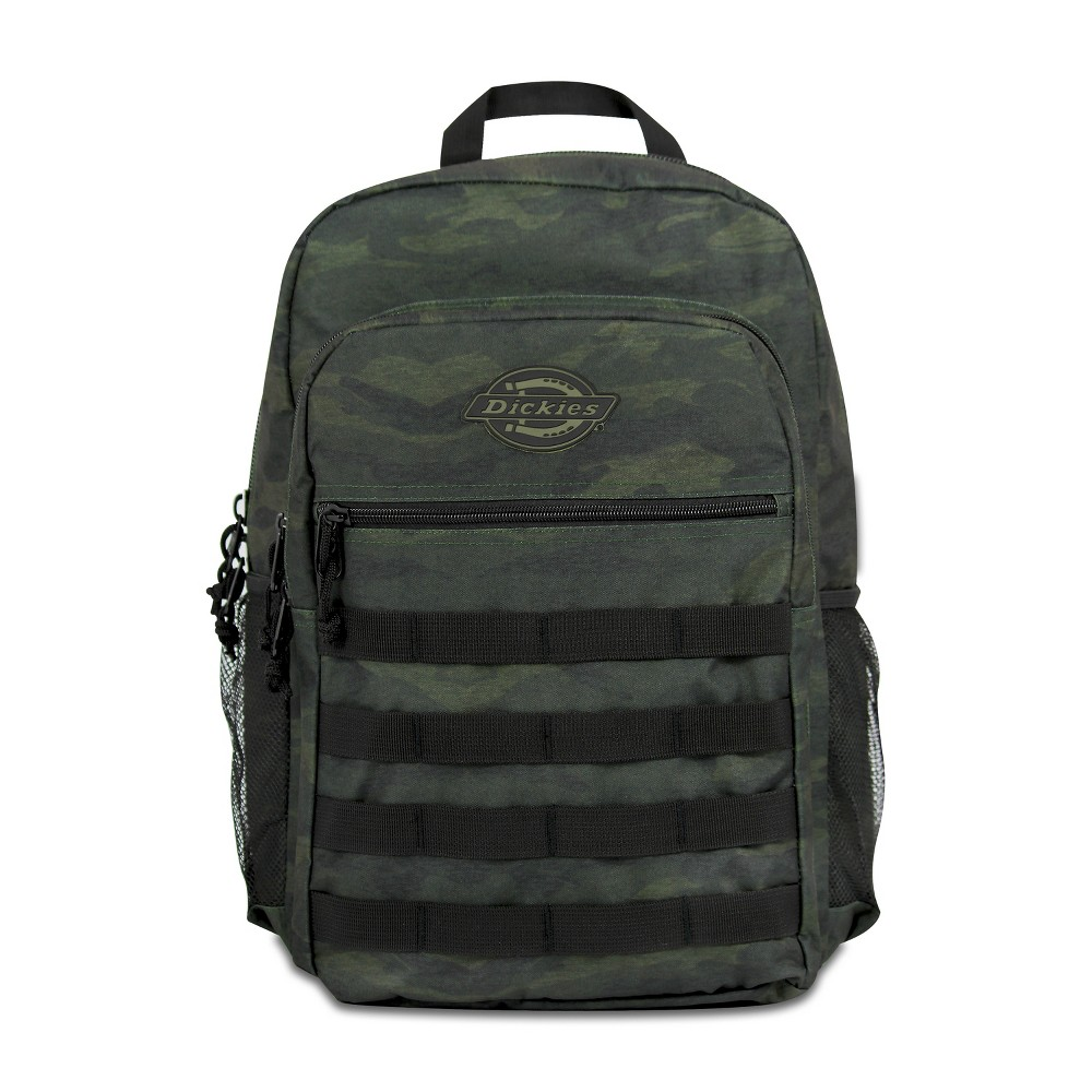 "Image of ""Dickies 17.5"""" Campbell Backpack - Heather Camo, Green"""
