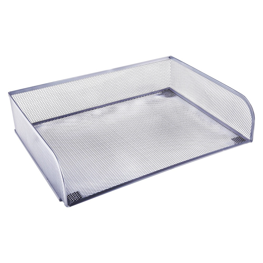 Metal Mesh Letter Tray - Room Essentials, Silver