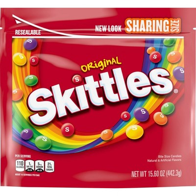 Skittles Original Sharing Size Chewy Candy - 15.6oz