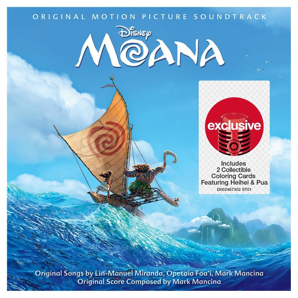 Moana Soundtrack (Target Exclusive)
