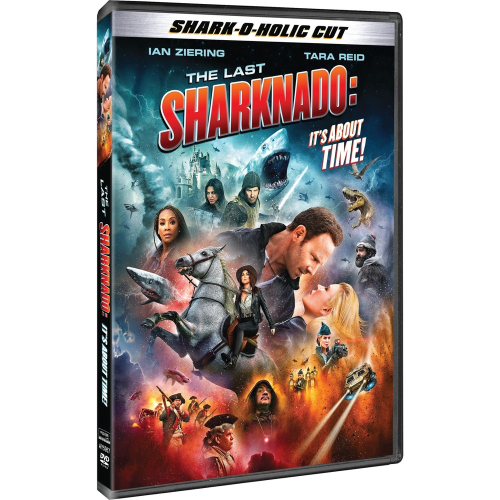 Last Sharknado Its About Time (Dvd) Last Sharknado Its About Time (Dvd)