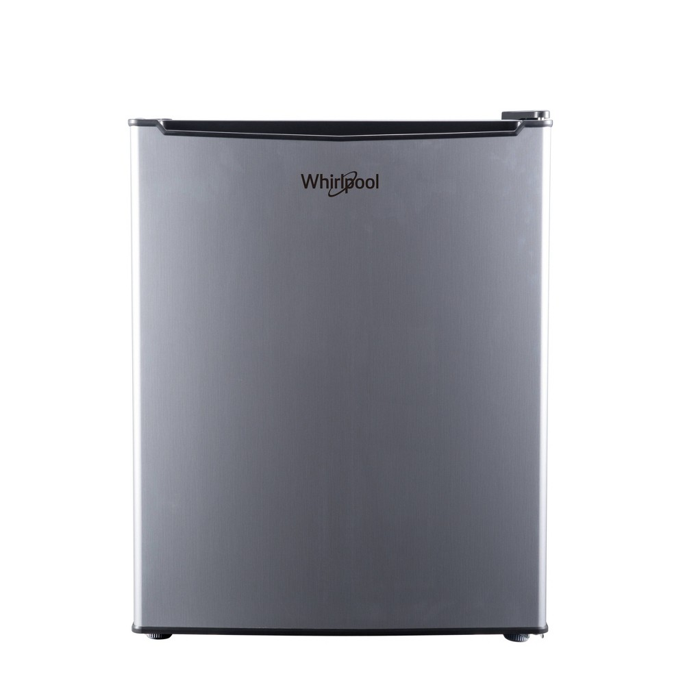 Image of Whirlpool 2.7 cu ft Mini Refrigerator Stainless Steel BC-75A