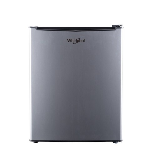 Whirlpool 2.7 cu ft Mini Refrigerator Stainless Steel BC-75A - image 1 of 4