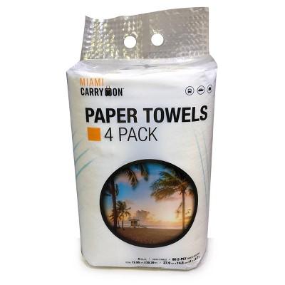 Miami CarryOn Paper Towels - 4pk