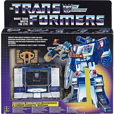 Transformers G1 Soundwave and Buzzsaw | Transformers Vintage G1 Reissues Action figures
