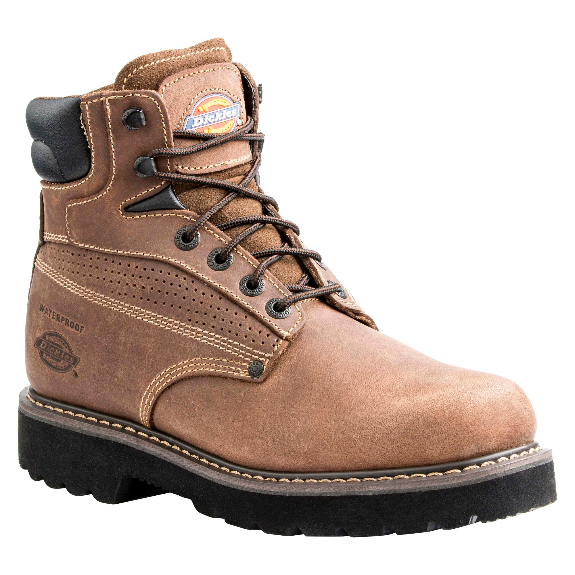 Men's Dickies Breaker Work Boots - Brown 8.5