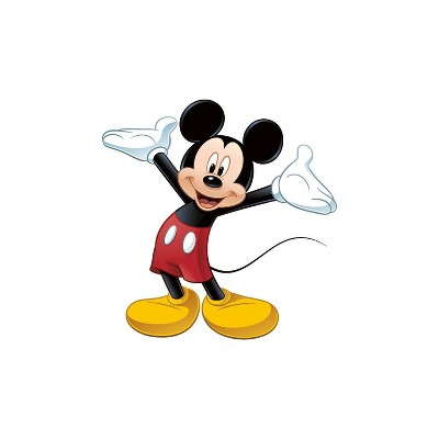Mickey and Friends Mickey Mouse Peel and Stick Giant Wall Decal