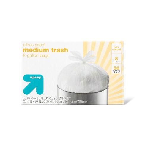 Citrus Medium Flap Trash Bag - 56ct - Up&Up™ - image 1 of 4