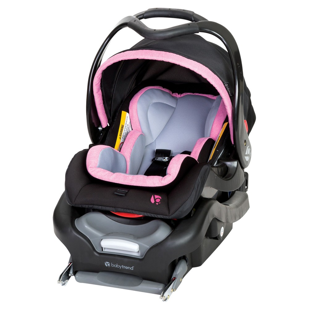 Image of Baby Trend Secure Snap Gear 35 Infant Car Seat - Pink Sorbet, Pink Pink