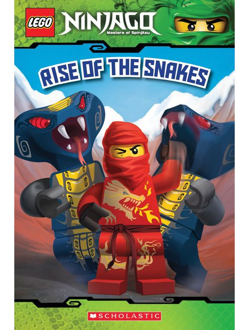 Rise of the Snakes (Lego Ninjago Reader #4) (Paperback) by Tracey West - image 1 of 1