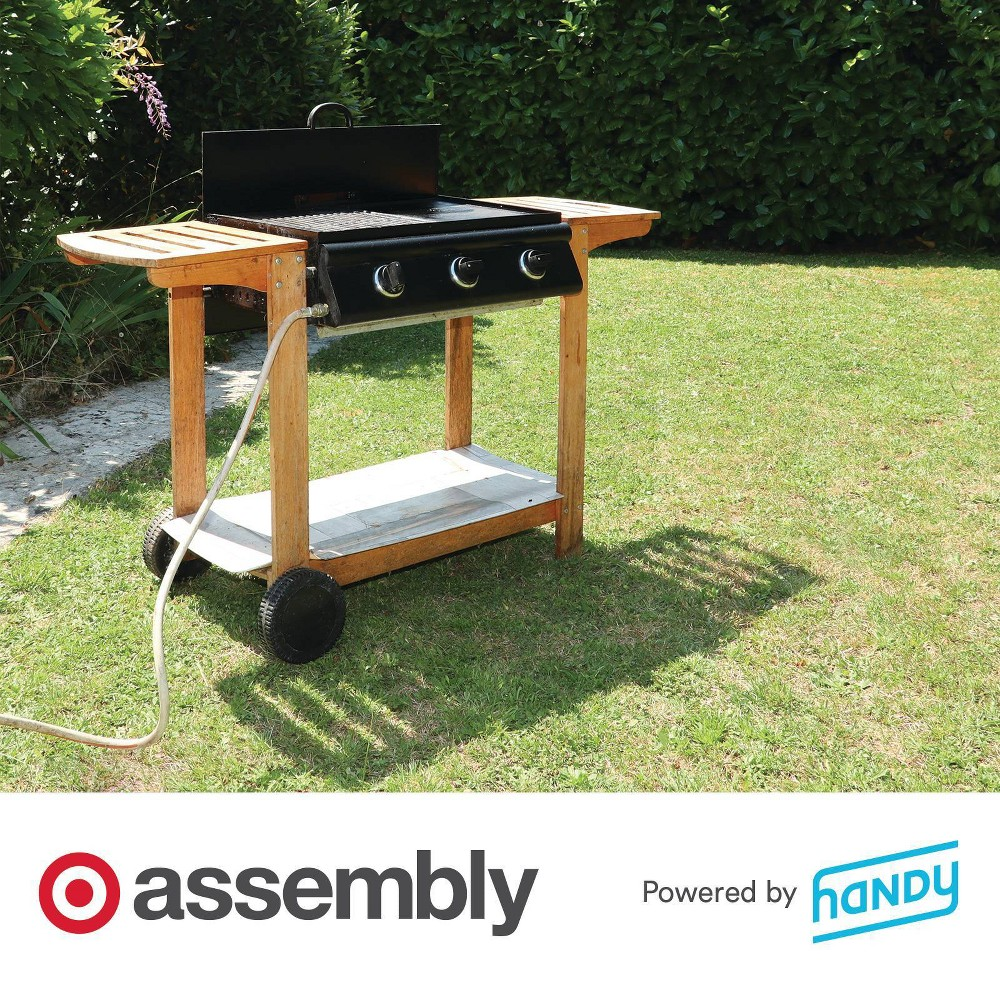 Pellet Grill Assembly Powered By Handy