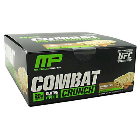 Muscle Pharm Combat Crunch Protein Bar - Cinnamon Twist - 12ct - image 1 of 1