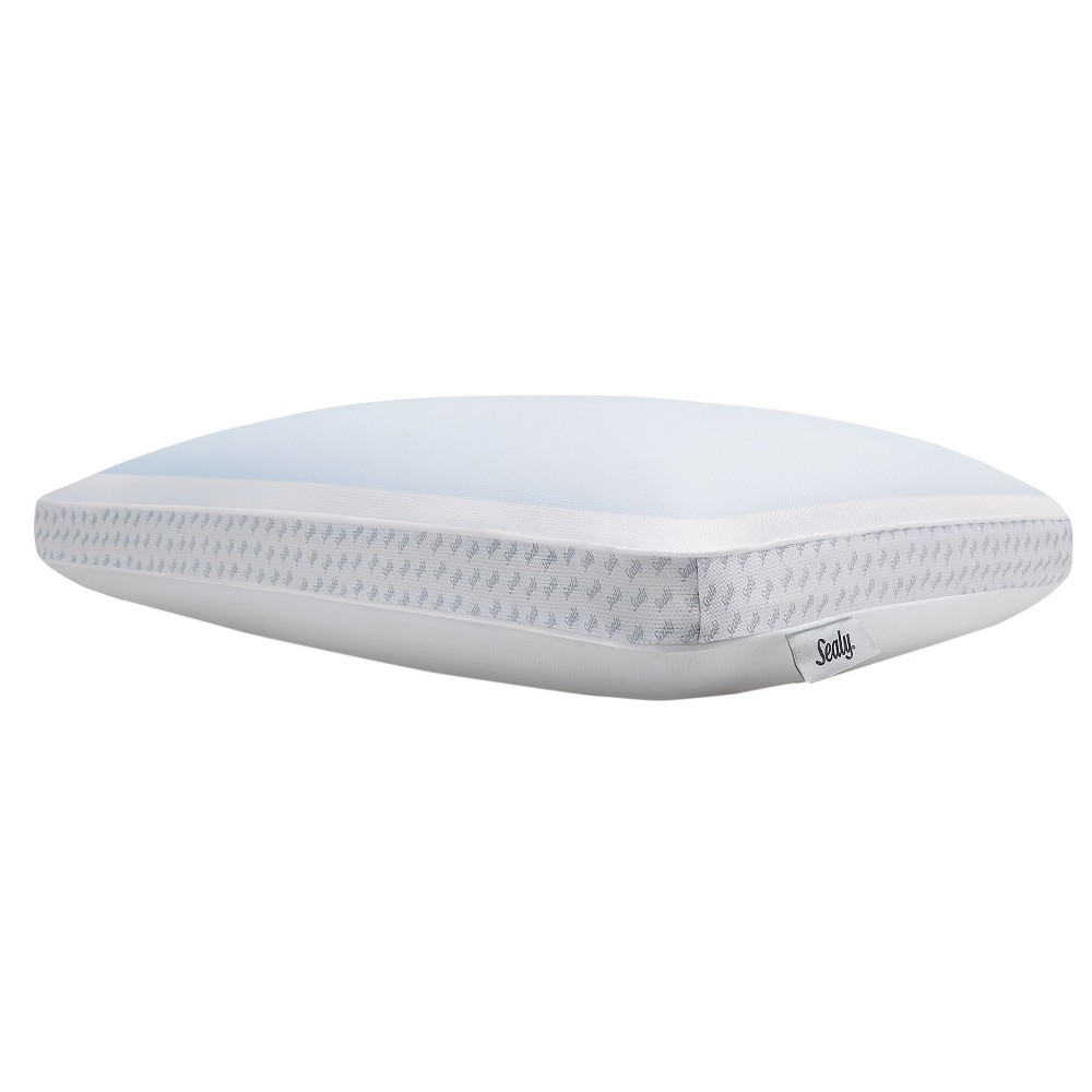Image of Sealy Gel Memory Foam Bed Pillow (Standard), White