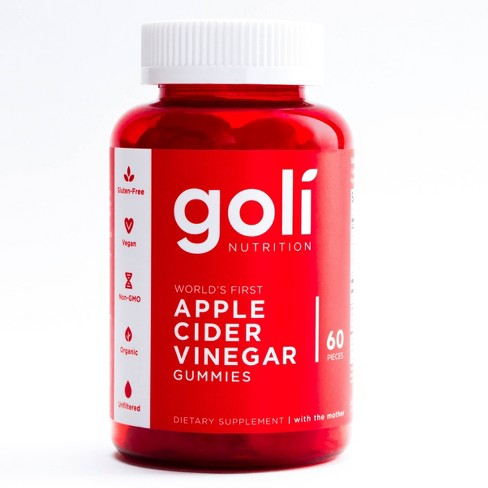 Goli Apple Cider Vinegar Gummies 60ct Target
