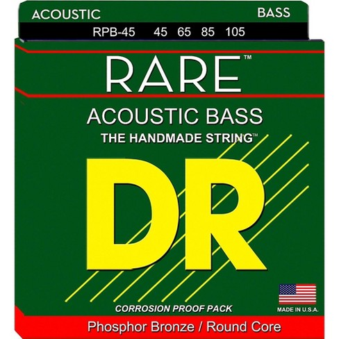 DR Strings Rare Phosphor Bronze Acoustic Bass Strings - image 1 of 1
