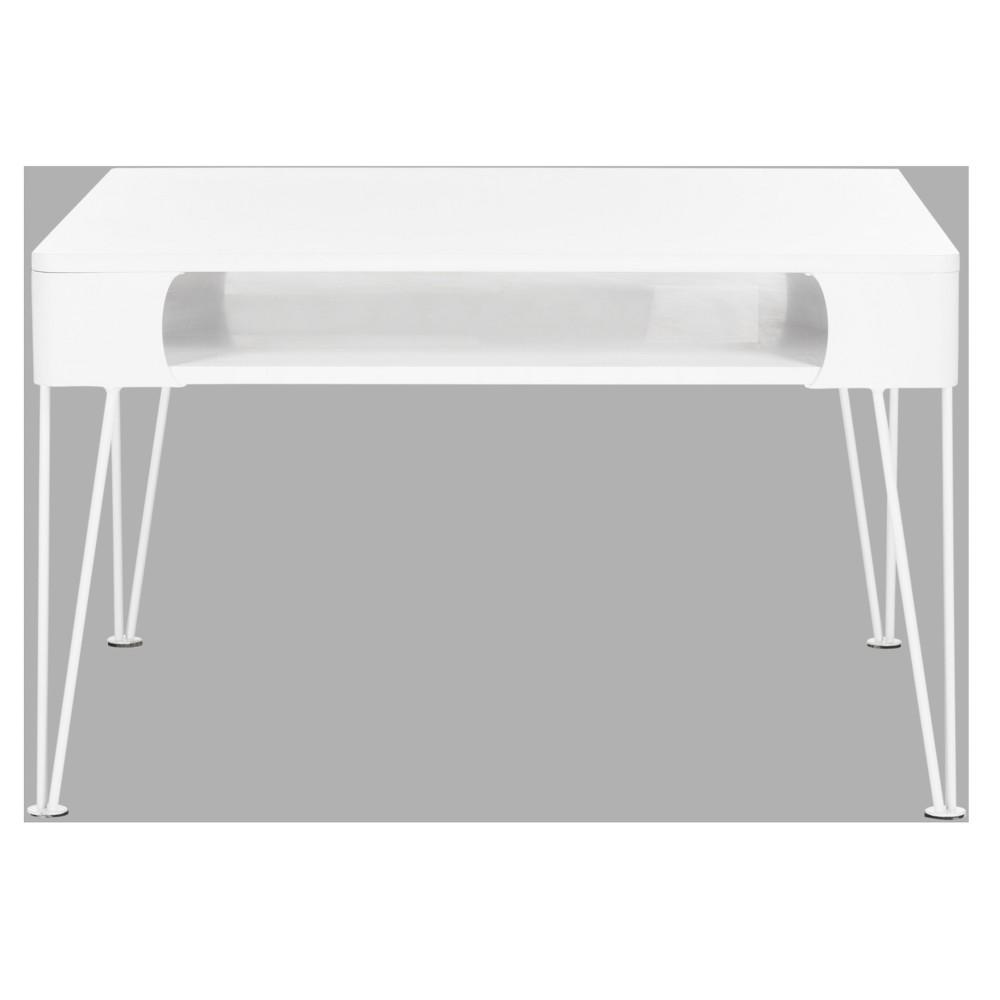 Elior Desk - White - Safavieh