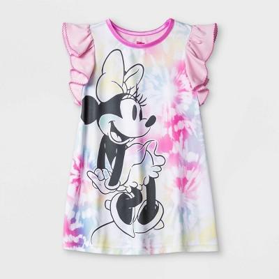Toddler Girls' Minnie Nightgown - Pink