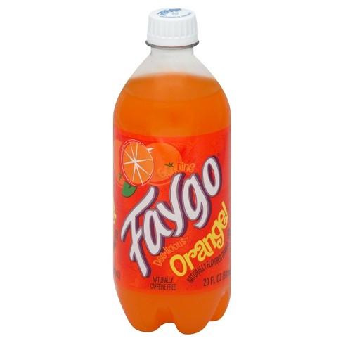 Faygo Orange - 20 fl oz Bottle - image 1 of 3