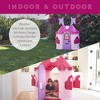 ECR4Kids Junior Princess Palace Playhouse, Pink Castle Play House  Indoor or Outdoor Play - image 4 of 4