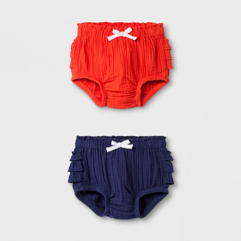 Baby Girls' Trouser Shorts - Cat & Jack™ Pink 24M - image 1 of 2