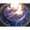 Recycled Fire Pit Fire Glass - Ocean Blue - AZ Patio Heaters - image 2 of 3