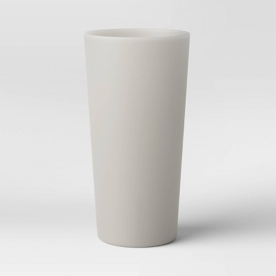 26oz Plastic Translucent Tumbler Gray - Room Essentials™