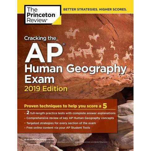 Cracking the AP Human Geography Exam, 2019 Edition - (College Test Preparation) (Paperback) - image 1 of 1