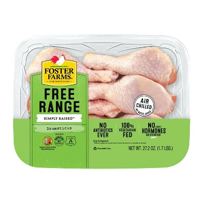 Foster Farms Chicken Drumsticks - 1.7lbs