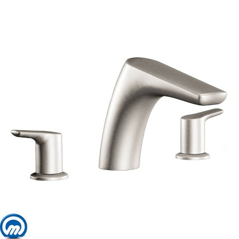 Moen T986 Deck Mounted Roman Tub Filler Trim from the Method Collection (Less Valve) - image 1 of 1