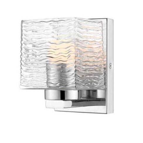 "Z-Lite 336-1S-LED Barrett Single Light 4-3/4"" Wide Integrated LED Bathroom Sconce - image 1 of 1"