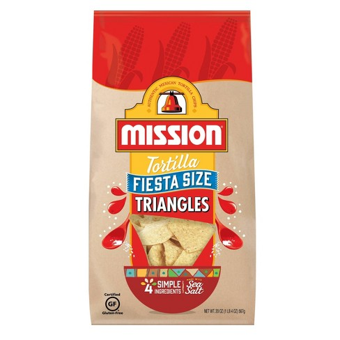Mission Fiesta Size Triangles Tortilla Chips - 20oz - image 1 of 3