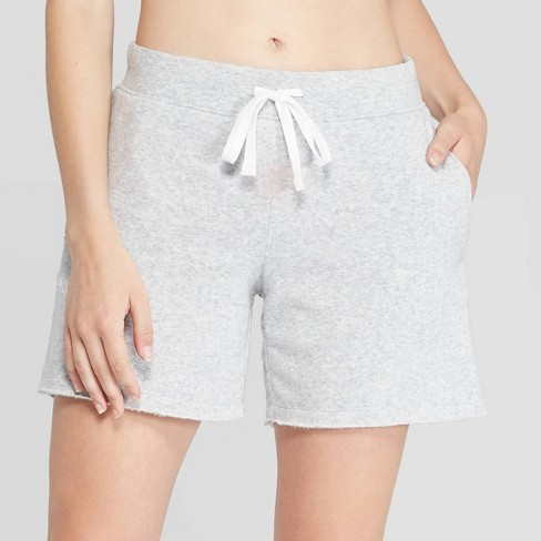 best service provide plenty of best shoes Women's Cozy Fleece Bermuda Lounge Shorts - Colsie™ Heather Gray