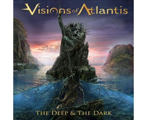 Visions Of Atlantis - Deep & The Dark (CD) - image 1 of 1